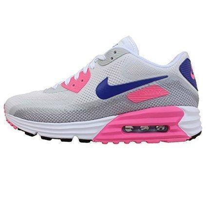 Nike Air Max 90 Girls' Preschool Vivid PinkPure PlatinumWhiteMetallic Silver*
