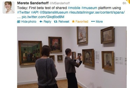 HintMe: a Shared Mobile Museum Platform on Twitter | Academic and Research Libraries | Scoop.it