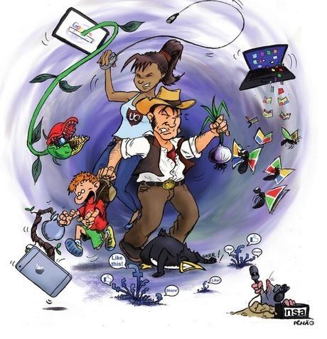 Un guide de survie à destination des aventuriers d'Internet | Données personnelles - vie privée | Scoop.it