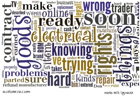 Consumer Rights: Buying Electrical Goods | English Listening Lessons | Scoop.it