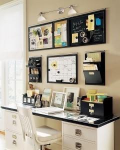 Un nouvel espace bureau la maison d for Amenager son bureau professionnel