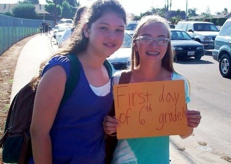 ANYTHING BUT A BLUE MONDAY: Back-to-School-Day in La ... | Personal Growth Through High School Sports | Scoop.it