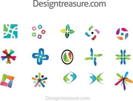15 Abstract Colorful Logo Vector Template - Free Download | Design Treasure | Designtreasure | Scoop.it