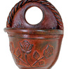Grooved Grape Hanging Pot