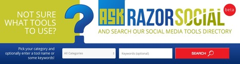 Better than the ultimate list of social media tools: RazorSocial new directory | Social Media Publishing and Curation | Scoop.it