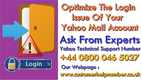 cant sign in to yahoo