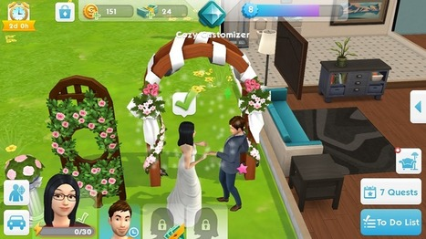 hack the sims mobile pc
