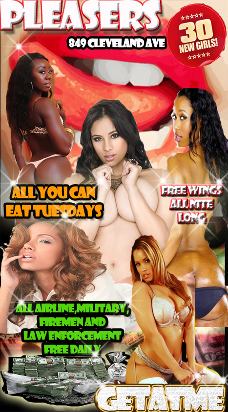 All You Can Eat Tuesdays @Pleasers....Wingz all night for free | GetAtMe | Scoop.it