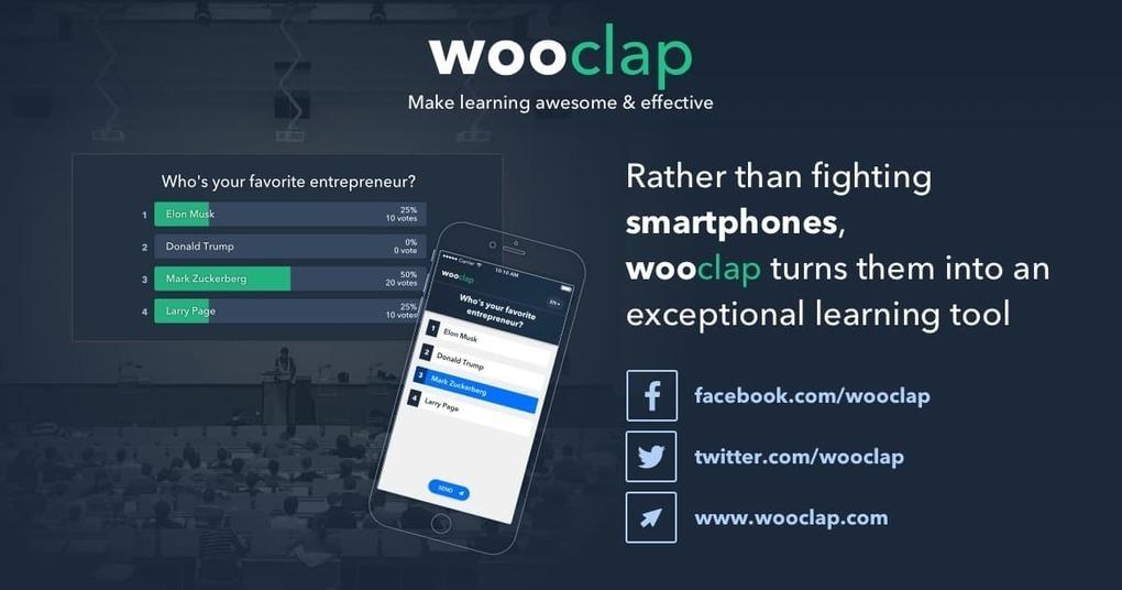 Wooclap - An interactive platform that makes le