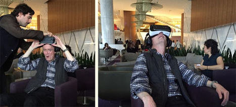 """William Gibson After Trying VR: """"They Did It"""" 