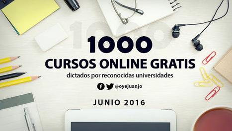 20 cursos universitarios gratis de Geografía y Geología | Oye Juanjo! | Geografía | Scoop.it