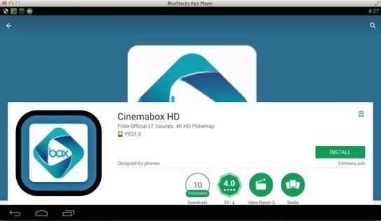 How to install CinemaBox for PC (Windows 7, 8,