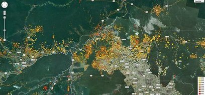 A New Satellite Tool Tracks Deforestation | All Things Geography | Scoop.it