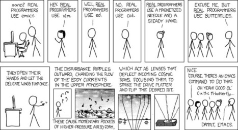 xkcd: Real Programmers | News we like | Scoop.it