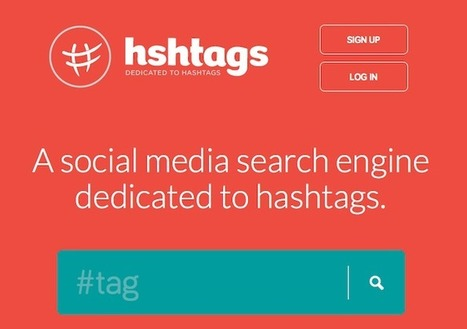 Hshtags : ce nouveau moteur de recherche est nommé 'le Google des médias sociaux' | BlogNT | Réseaux Sociaux - Social Media | Scoop.it