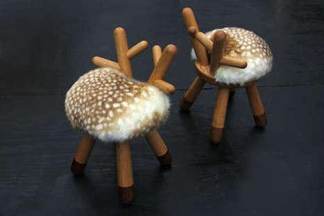 Woodland Creature Seating | Arte y Fotografía | Scoop.it