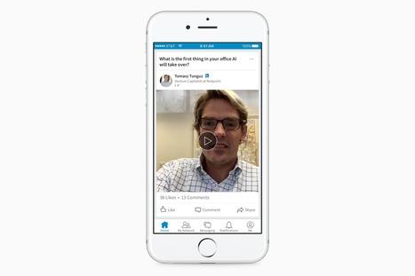 La vidéo débarque sur LinkedIn, uniquement pour les influenceurs - Influenth | Tendances, technologies, médias & réseaux sociaux : usages, évolution, statistiques | Scoop.it