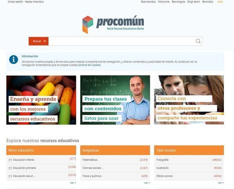 Más de 68.000 recursos en la red educativa Procomún - Educación 3.0 | Experiencias y buenas prácticas educativas | Scoop.it