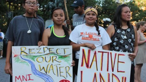 #Oil Pipeline company gets nasty as it tries to push huge new project through sensitive lands #KeyXL #Navajo #US | Messenger for mother Earth | Scoop.it