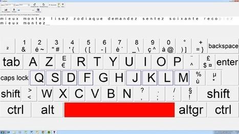 Apprendre à taper au clavier : les 4 meilleurs outils gratuits | Time to Learn | Scoop.it