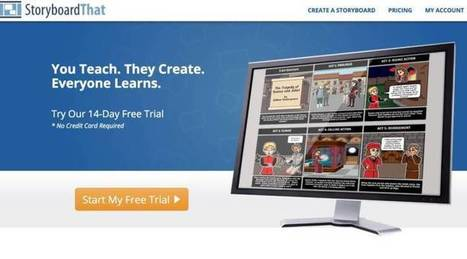 StoryboardThat. Créer des storyboards pour apprendre avec des images – Les Outils Tice | Nouvelles des TICE | Scoop.it