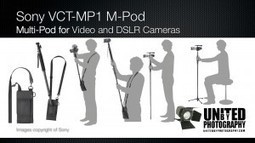 Sony VCT-MP1 MultiPod video & dslr multi combi-mono-tripod-system | DSLR video and Photography | Scoop.it