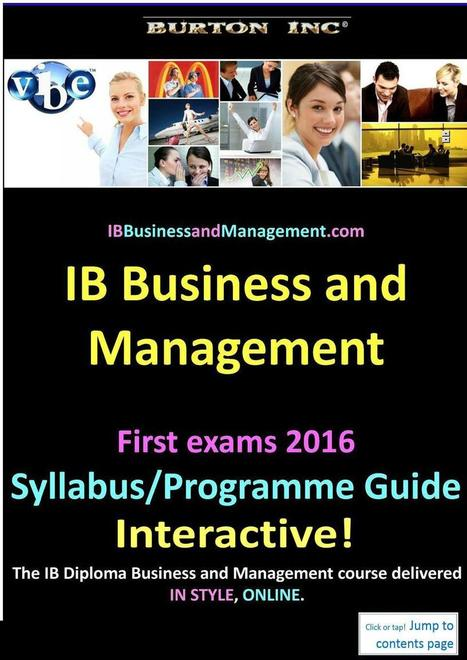 ib business and management coursework