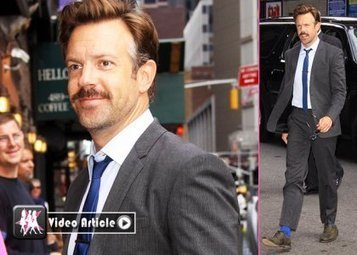"Jason Sudeikis Talks ""SNL"" with David Letterman: ""I'm Definitely Done."" 