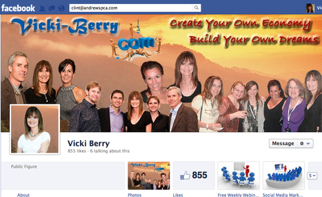 Facebook Fan Page Timeline Affects on Your Social Media Marketing Strategy   Vicki-Berry.com   Small Business Development   Scoop.it