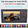 AUDI A8 S8 DVD player with gps radio tv bluetooth