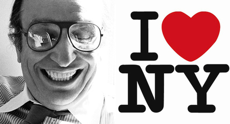 Everyday Icon #2 The I Love New York logo | Graphic Design | Agenda | Phaidon | Avant-garde Art, Design & Rock 'n' Roll | Scoop.it
