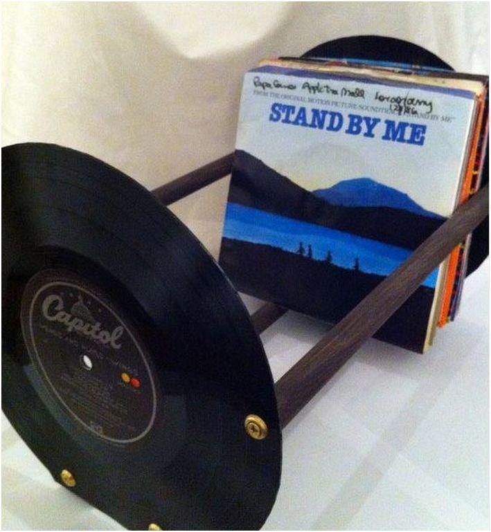 bac en vinyle pour vinyle le disque. Black Bedroom Furniture Sets. Home Design Ideas