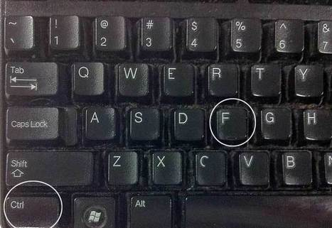 Only one in 10 know what Ctrl-F does - here are shortcuts you should know | Geeks and Genealogy | Scoop.it
