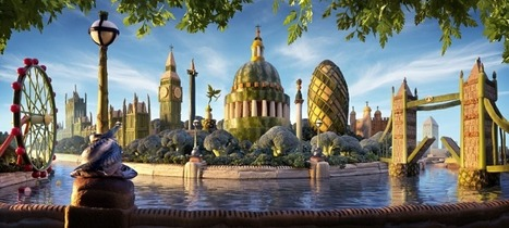 Carl Warner's Whimsical Food Landscapes | SocialMediaDesign | Scoop.it