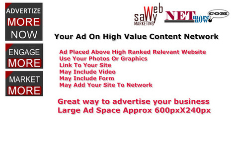 mkristi : I will publish your ad on high value content network for $5 on fiverr.com | Buyer Traffic Generation | Content & Video Marketing | SEO | Scoop.it