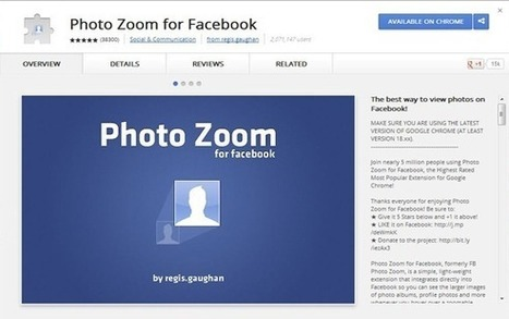 10 Very Useful Google Chrome Extensions for Facebook | BestChromeExtensions | Scoop.it