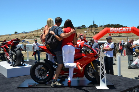 Laguna Seca MotoGP Ducati Island   Friday, Vicki's View   Ductalk Ducati News   Scoop.it