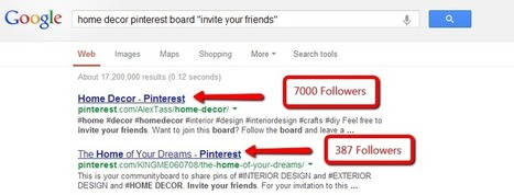 Tips For Driving Traffic and Revenue With Pinterest | Business 2 Community | Pinterest | Scoop.it