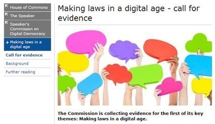 Construyendo leyes en la era digital | Diálogos sobre Gobierno Abierto | Scoop.it