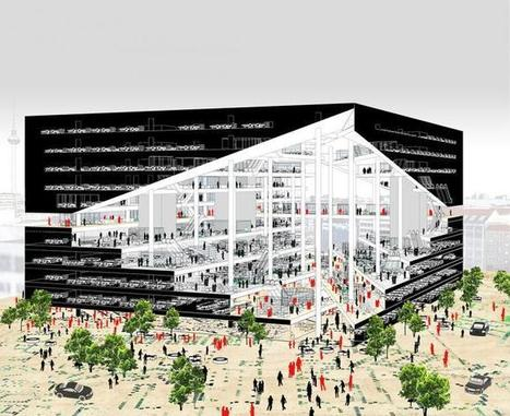 OMA wins the Axel Springer compettion. | METALOCUS | retail and design | Scoop.it