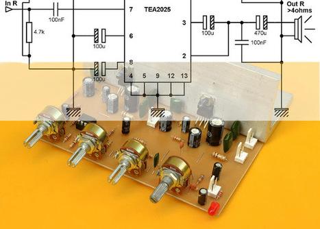 Esquemas y circuitos electrónicos para que construyas tu propio amplificador de audio   El diario de Alvaretto   Scoop.it