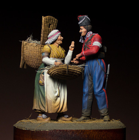 Russian cossacks in Paris | Military Miniatures H.Q. | Scoop.it