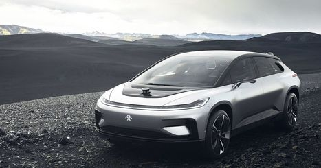 Faraday Future just unveiled a super fast Tesla competitor — here's what it looks like | Communication design | Scoop.it