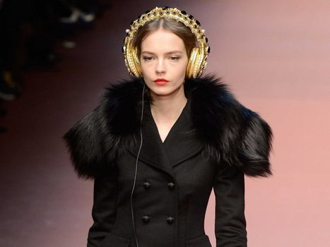 Dolce & Gabbana is selling ridiculously ornate $8,000 headphones | Fashion & more... | Scoop.it