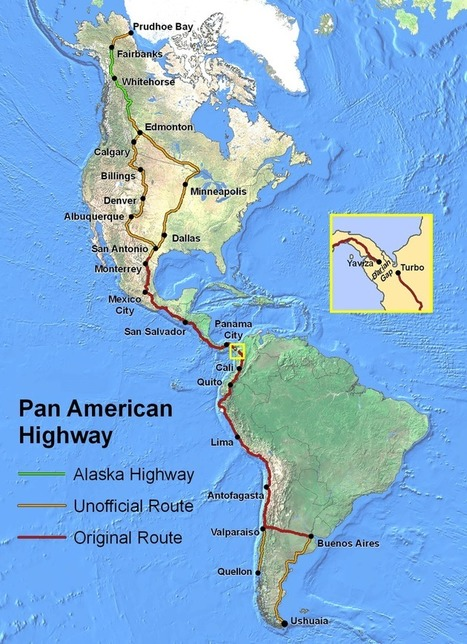 The Pan American Highway: The Longest Road In The World | geographical themes and issues | Scoop.it