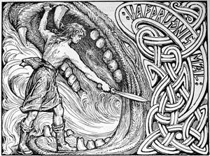 el mito de frigg mitología nórd