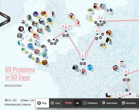 16 Inspiring Examples of Interactive Maps in Web Design | Spatial in Schools | Scoop.it