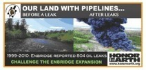 Enbridge Finds New Obstacles in Expansion.   Honor the Earth   IDLE NO MORE WISCONSIN   Scoop.it
