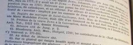 Jean Jung, cordonnier et terroriste – Les pièces du puzzle | Chroniques d'antan et d'ailleurs | Auprès de nos Racines - Généalogie | Scoop.it