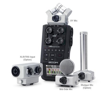 Zoom H6 Handy Recorder Announced | VideoPro | Scoop.it